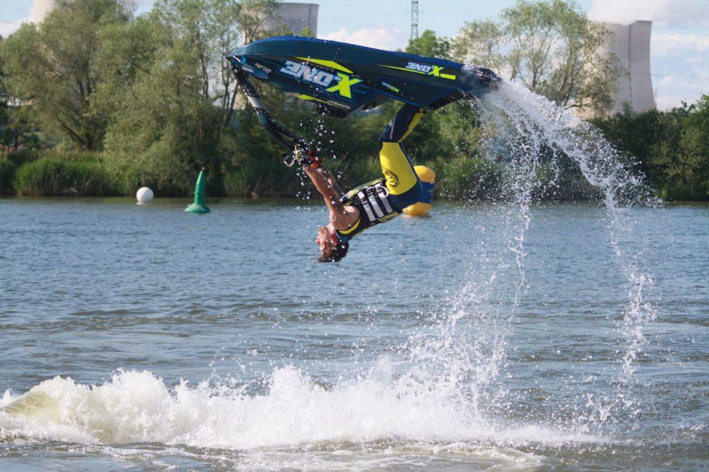 Photographie sportive P1 Jet Cross World tour championnat du monde de jet-ski à bras Jet-ski accrobatique Nautic'Ham