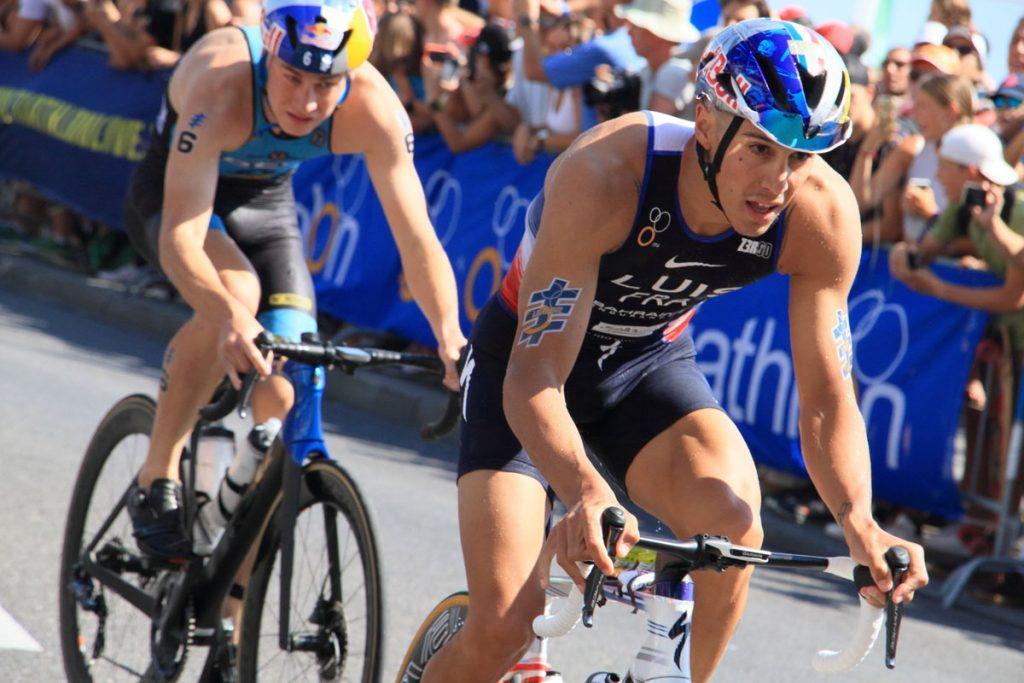 Photographie sportive triathlon vélo Luis World Triathlon Series WTS Final Lausanne Suisse
