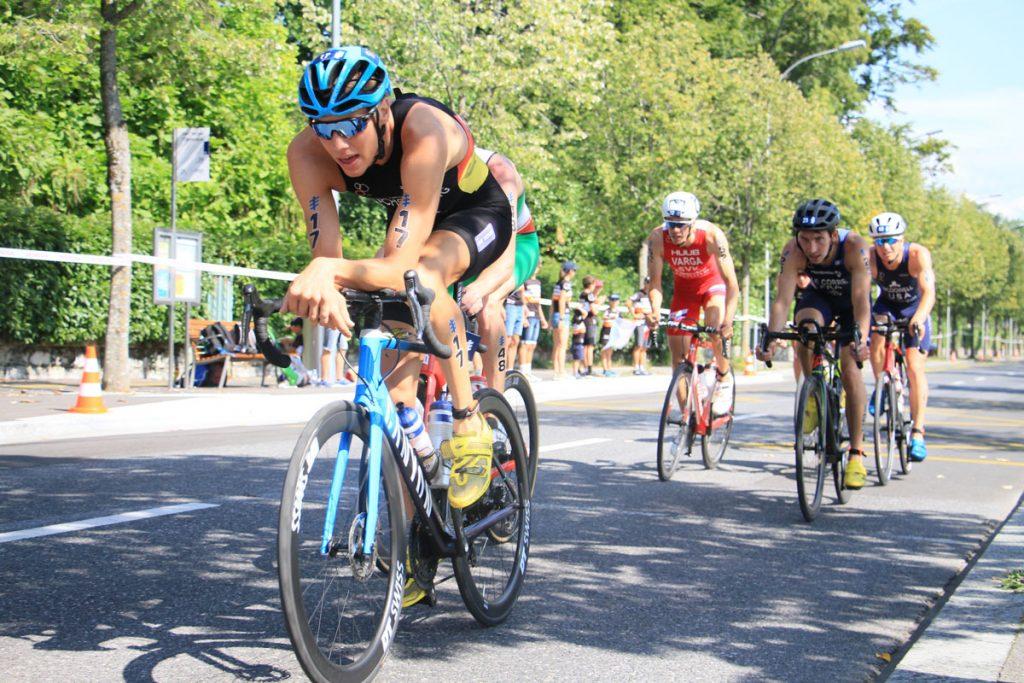 Photographie sportive triathlon peloton vélo hommes World Triathlon Series WTS Final Lausanne Suisse