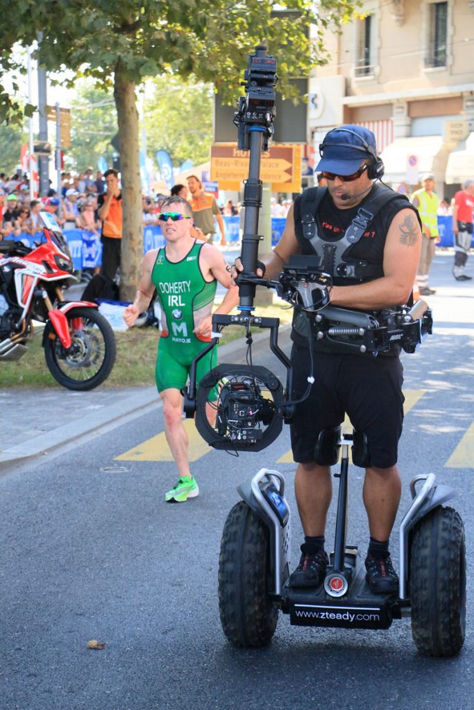 Photographie sportive triathlon course à pied Doherty World Triathlon Series WTS Final Lausanne Suisse