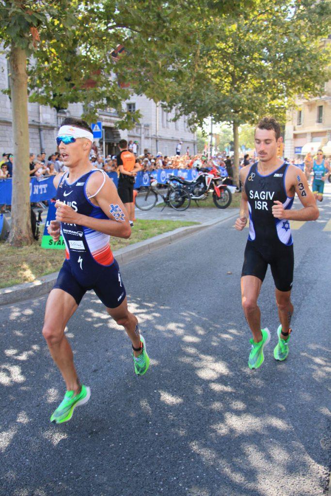 Photographie sportive triathlon course à pied Luis Sagiv World Triathlon Series WTS Final Lausanne Suisse