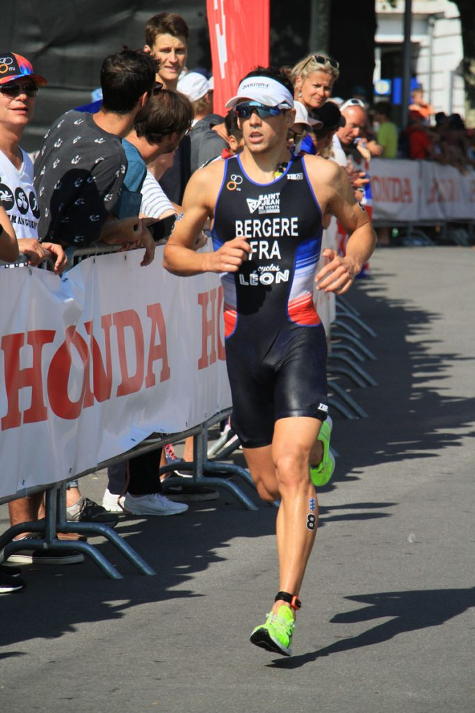 Photographie sportive triathlon course à pied Bergère World Triathlon Series WTS Final Lausanne Suisse
