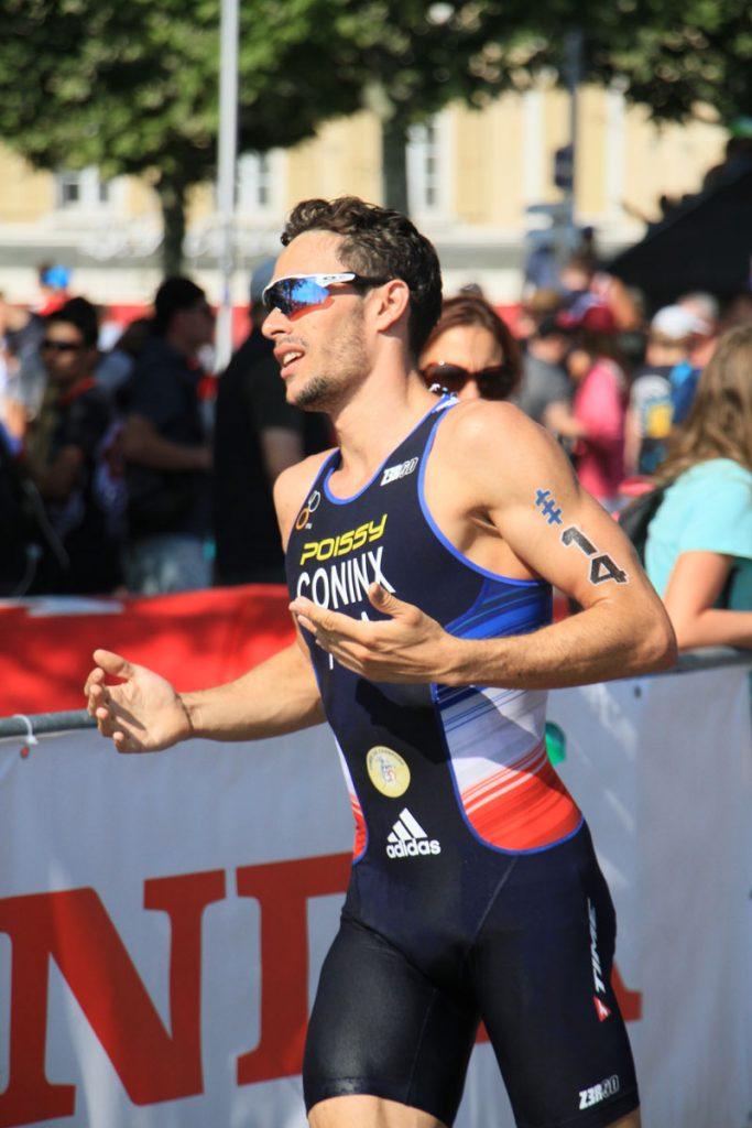 Photographie sportive triathlon course à pied Coninx World Triathlon Series WTS Final Lausanne Suisse