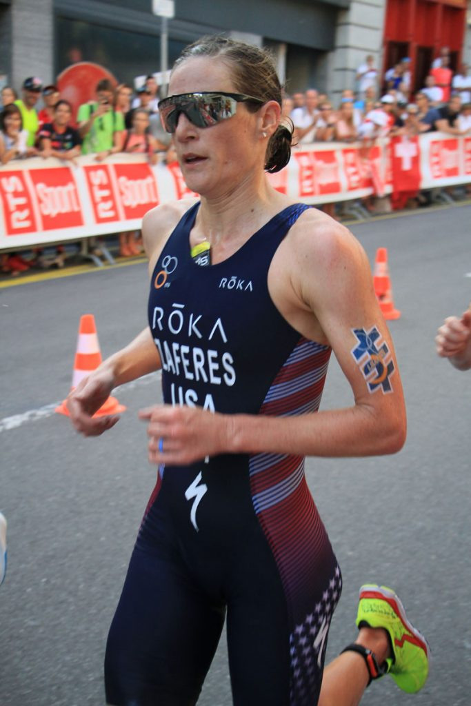 Photographie sportive triathlon course à pied Zaferes World Triathlon Series WTS Final Lausanne Suisse