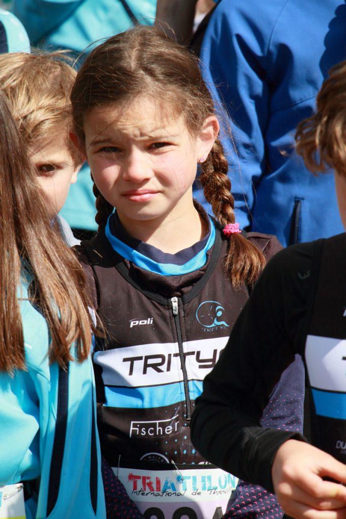 Photographie sportive triathlon Thionville duathlon enfants portrait