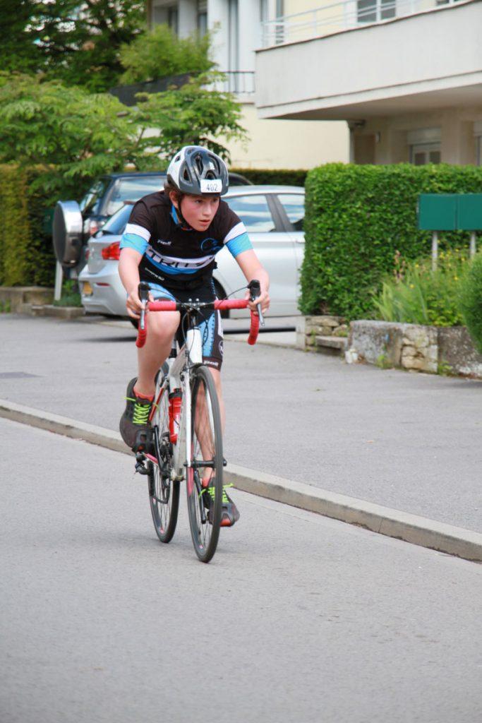 Photographie sportive triathlon Thionville duathlon enfants vélo