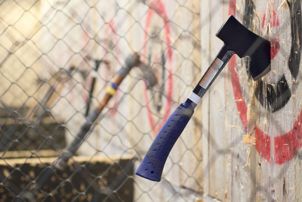 Pistes lancer de haches Cibles Lumberjack – Lancer de haches et shuriken Metz