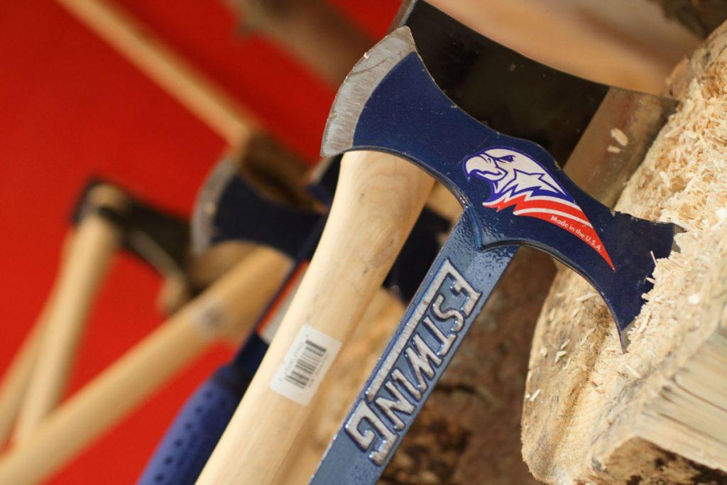 Hache Estwing Lumberjack – Lancer de haches et shuriken Metz