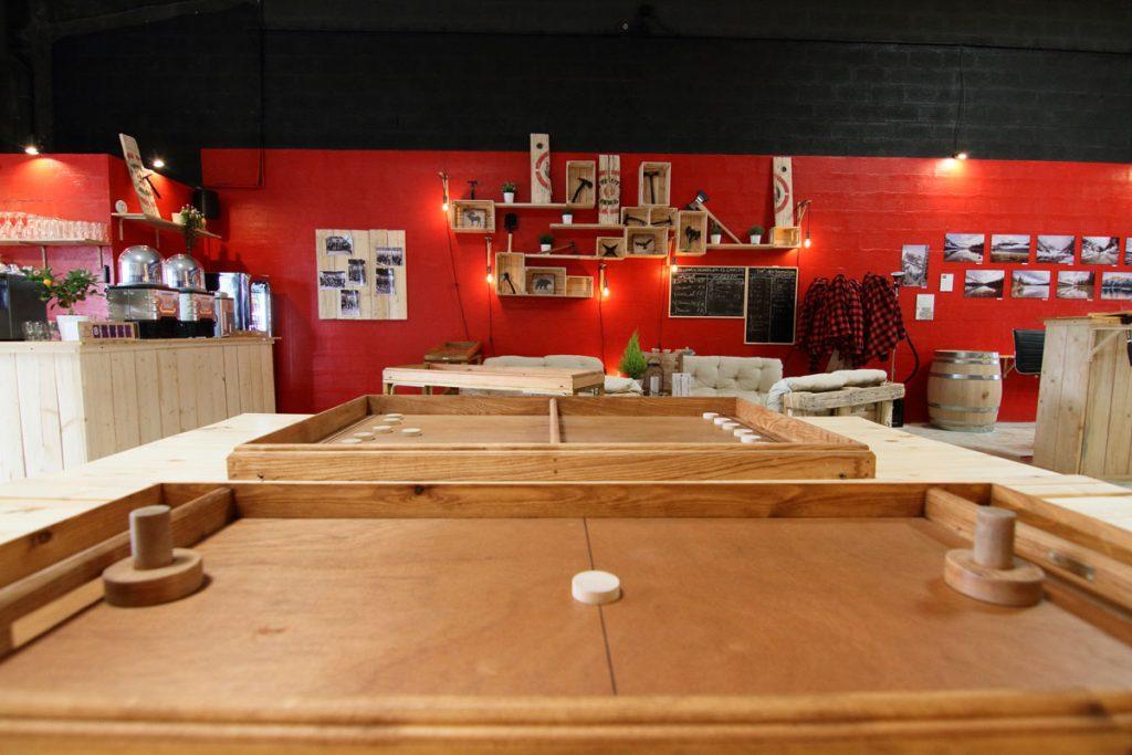 Espace Accueil Salon Jeu Détente Lumberjack - Lancer de haches Metz