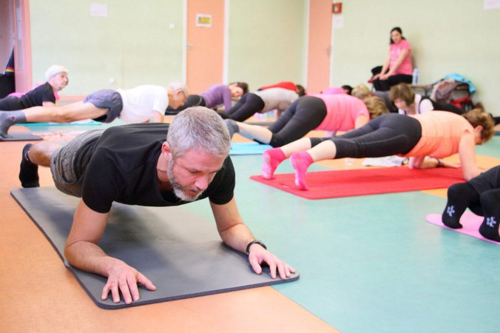 Planche Olivier Sergeff Coach Sportif cours de Pilates Thionville