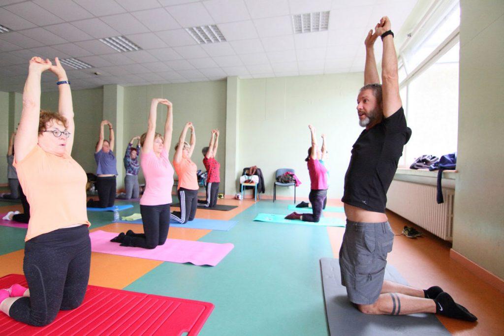 Etirements Olivier Sergeff Coach Sportif cours de Pilates Thionville