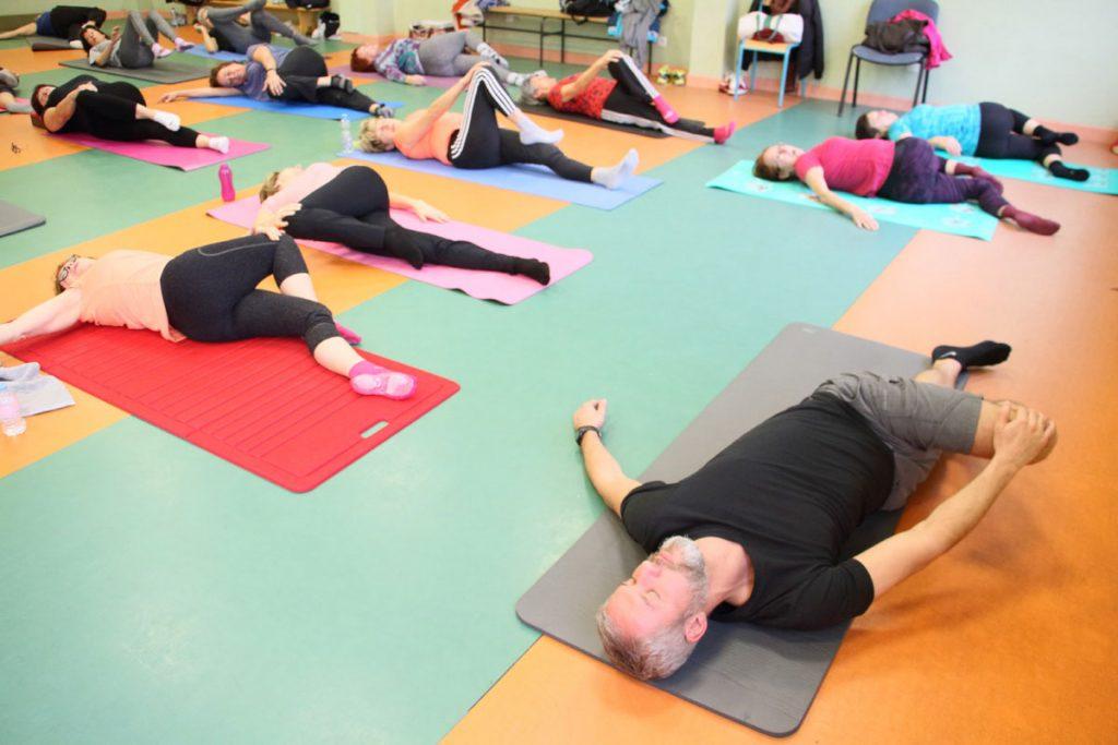 Séance Pilates relaxation étirements Olivier Sergeff - Coach Sportif Thionville