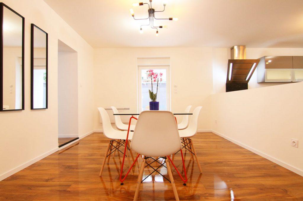 Photographie immobilière salon maison Thionville