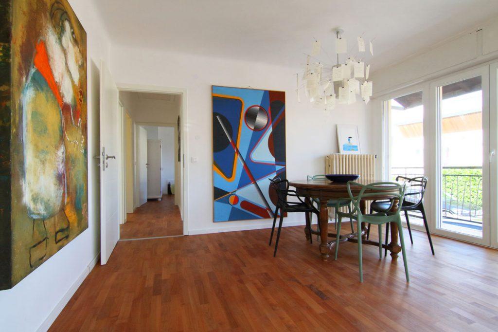 Photographie immobilière salon Art Déco appartement Thionville
