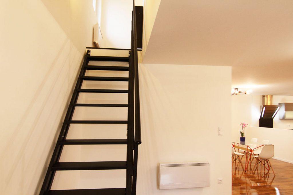 Photographie immobilière escalier maison Thionville