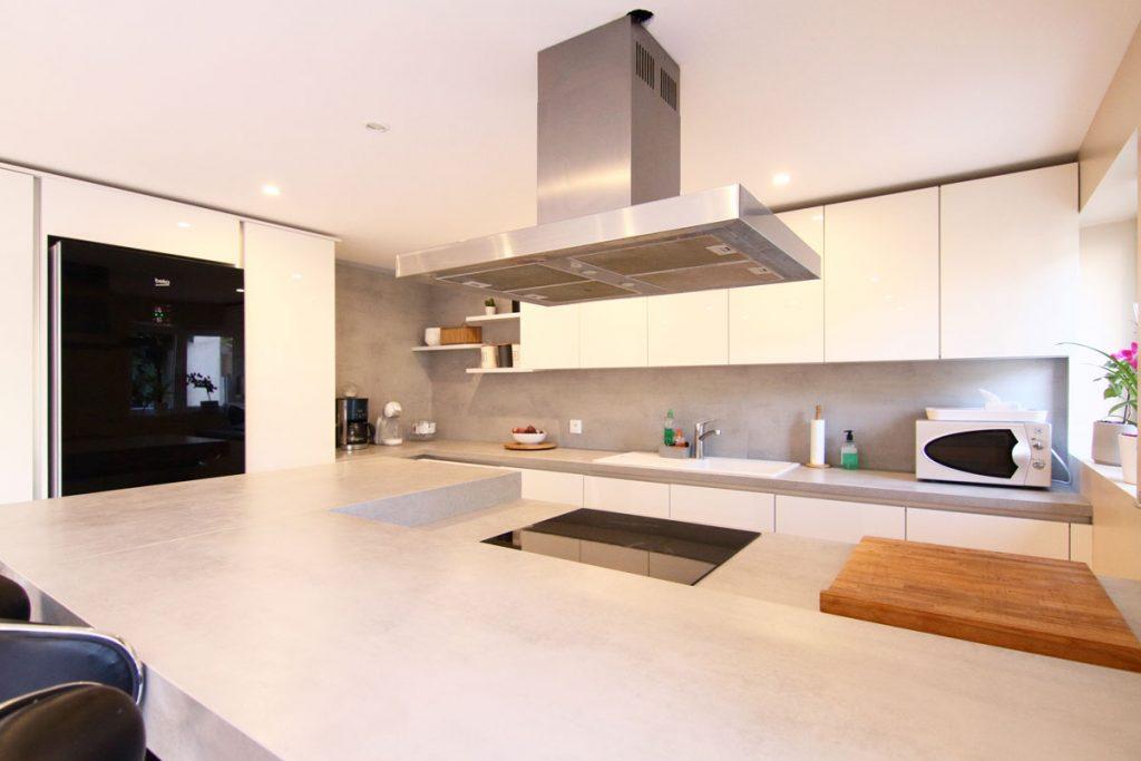 Photographie immobilière cuisine maison Yutz